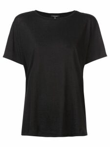 R13 slouch T-shirt - Black
