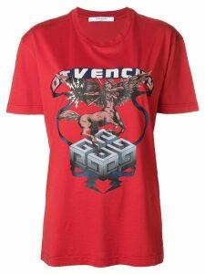 Givenchy centaur print T-shirt - Red