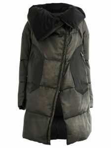 Isaac Sellam Experience leather padded coat - Grey