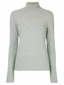 Calvin Klein 205W39nyc turtle neck top - Grey