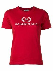 Balenciaga BB Balenciaga printed T-shirt - Red