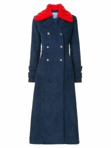 Macgraw Starman corduroy coat - Blue