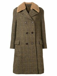 Aspesi double breasted coat - Green
