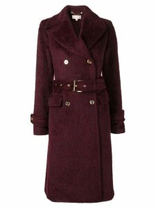 Michael Kors Collection double breasted coat - Red