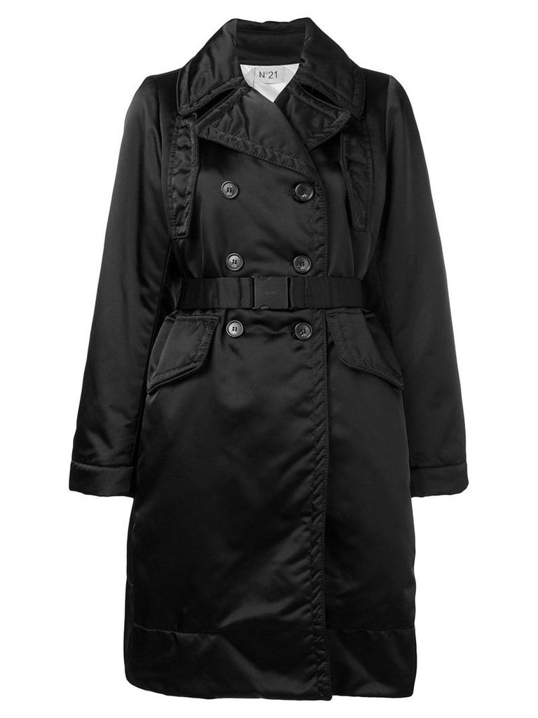 Nº21 loose fitted coat - Black