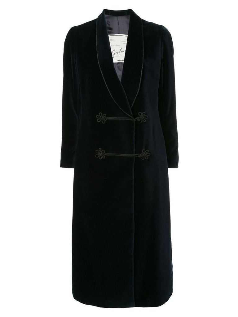 Giuliva Heritage Collection double breasted coat - Blue