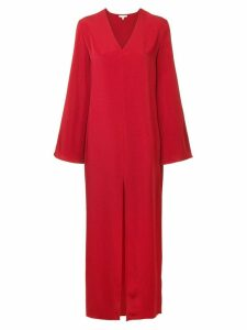 Layeur V-neck tunic - Red