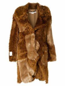 Stella McCartney Sugar Cane coat - Brown