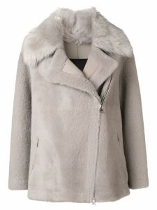 Blancha oversized coat - Grey