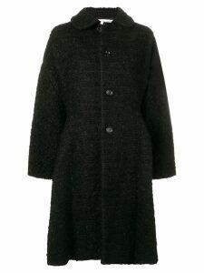 Comme Des Garçons Comme Des Garçons flared single-breasted coat -