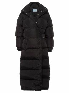 Prada oversized padded coat - Black