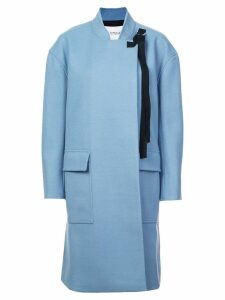 Derek Lam 10 Crosby A-Line Coat - Blue