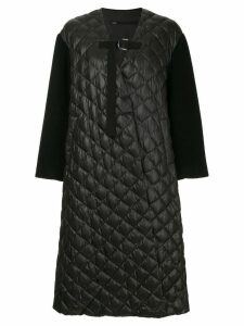 Muller Of Yoshiokubo Ben quilted oversized coat - Black