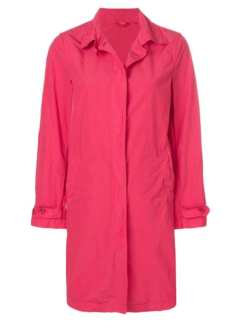 Aspesi Gabardina coat - Red
