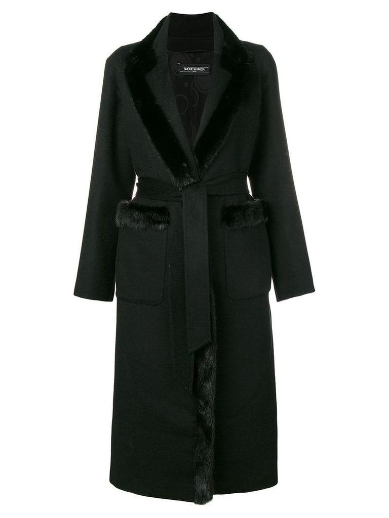 Simonetta Ravizza Melissa coat - Black