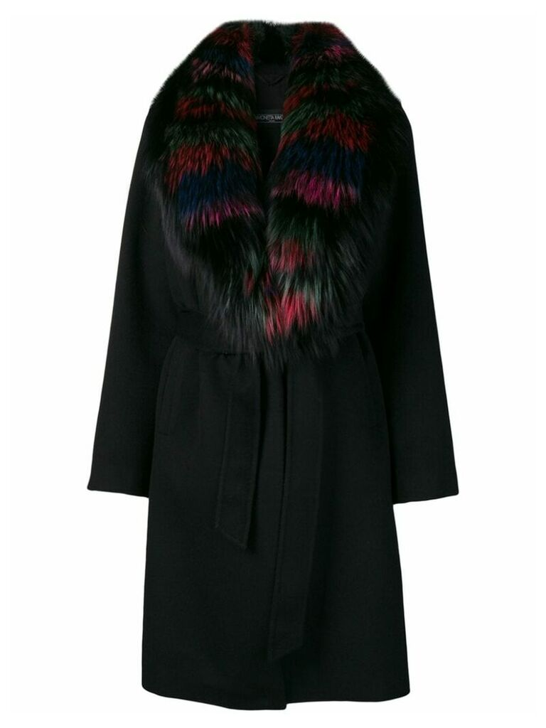 Simonetta Ravizza Malva coat - Black