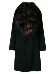 Simonetta Ravizza Malva coat - Black