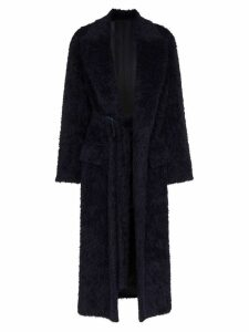Joseph Paddington Belted Coat - Blue