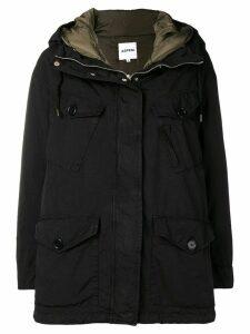 Aspesi hooded coat - Black
