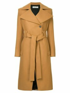 Aalto single breasted coat - Brown