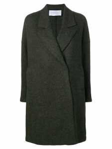 Harris Wharf London classic single breasted coat - Grey