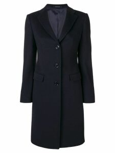 Tagliatore single breasted coat - Blue