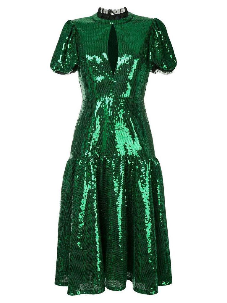 Macgraw Ziggy sequinned dress - Green