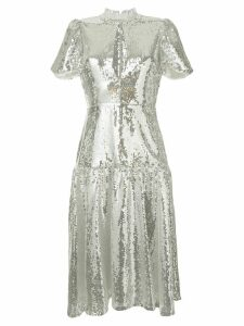Macgraw Ziggy sequinned dress - Metallic