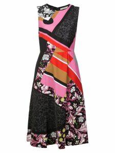 Mary Katrantzou multi-print dress - Black