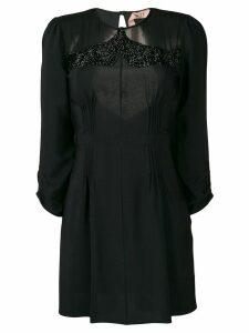 Nº21 embellished shift dress - Black