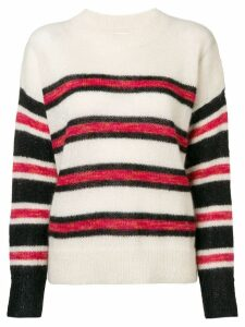 Isabel Marant Étoile Russell striped pullover - Neutrals