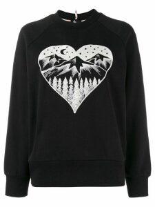 Moncler Grenoble Après Ski embroidered sweater - Black