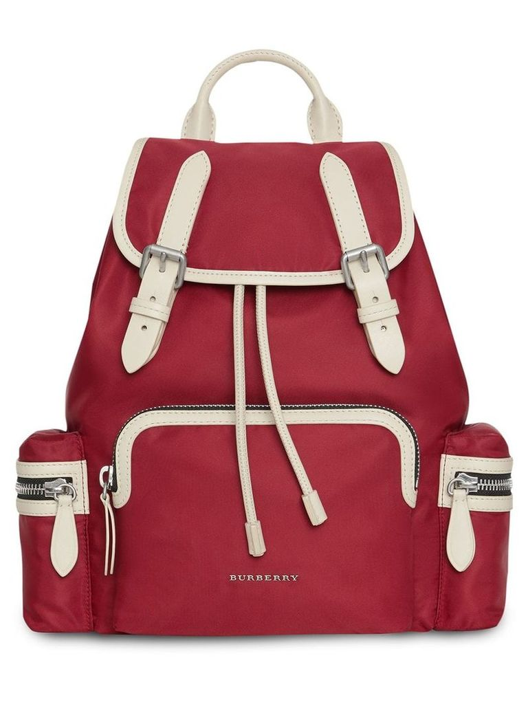 Burberry The Medium Rucksack - Red