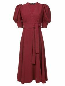 Proenza Schouler volume sleeve dress - Red