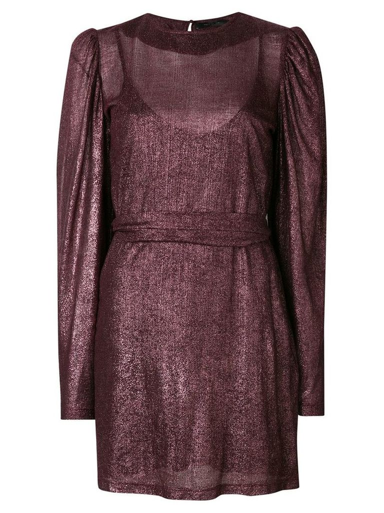 Federica Tosi puff sleeve dress - Pink