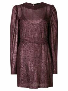 Federica Tosi puff sleeve dress - Pink