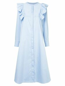 Macgraw Signal shirt dress - Blue