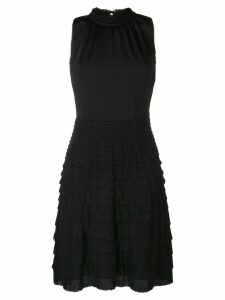 Giambattista Valli ruffled dress - Black