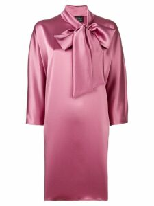 Gianluca Capannolo tie neck dress - Pink