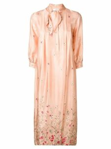 Roseanna floral print shirt dress - Neutrals