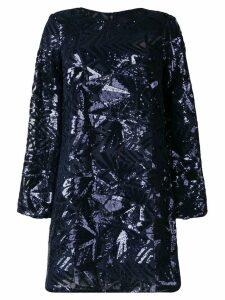 P.A.R.O.S.H. sequin embellished dress - Blue