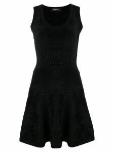 Dsquared2 sleeveless short dress - Black