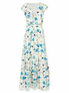 Borgo De Nor floral printed flared dress - Multicolour
