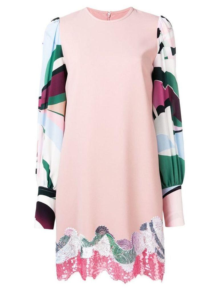 Emilio Pucci shift party dress - Pink