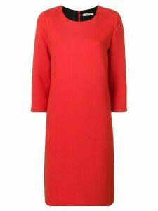 Dorothee Schumacher 3/4 sleeve shift dress - Red