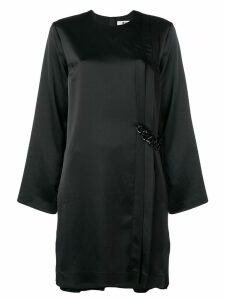 MSGM loose fitted dress - Black