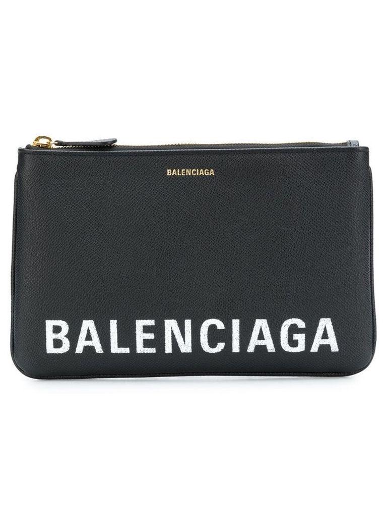 Balenciaga Ville pouch M - Black