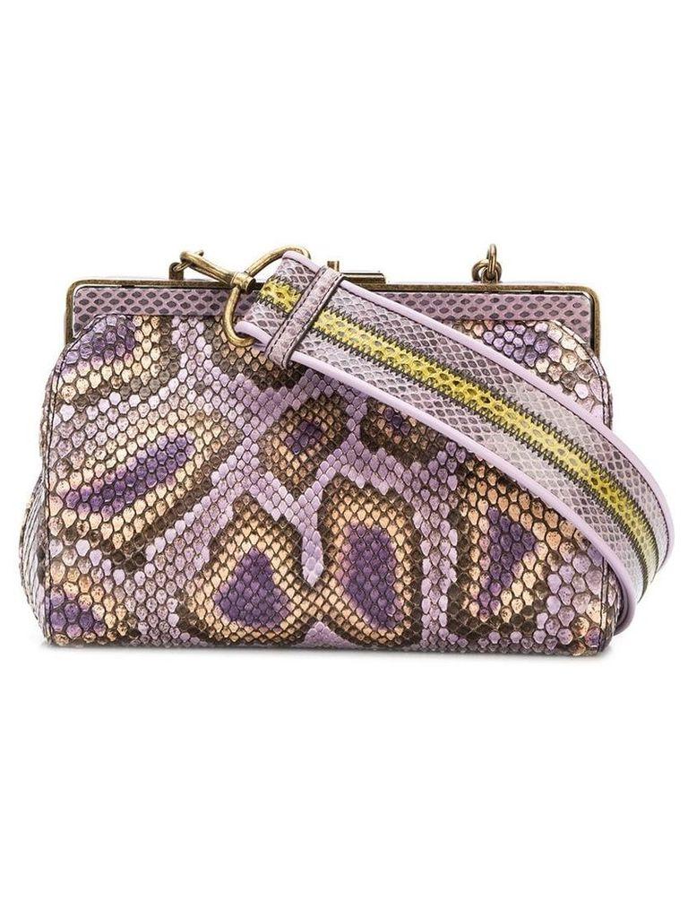 Bottega Veneta Burano clutch bag - Pink