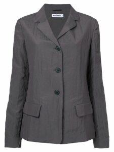 Jil Sander flap pockets blazer - Grey