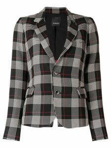 Pinko checked blazer - Black